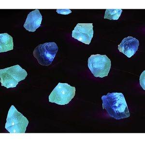 Real fluorite lights